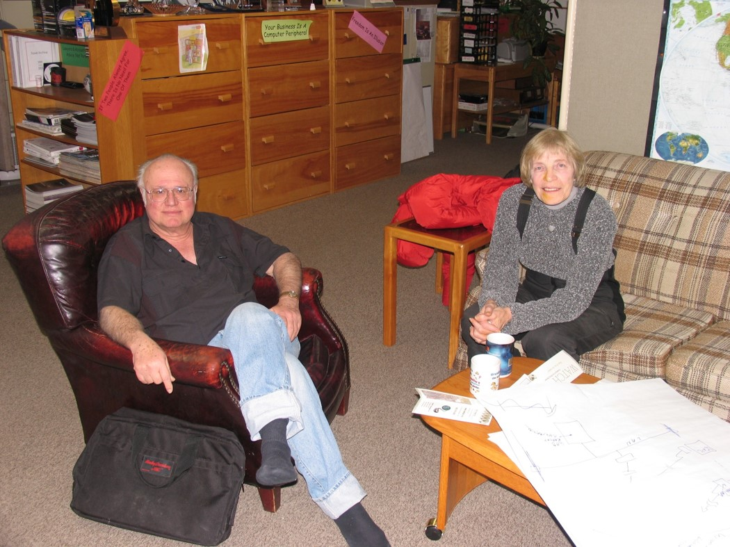 Dick and Shirley 2005