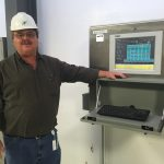 Brian Tucker pictured at SCWRD's Spring Creek Facility